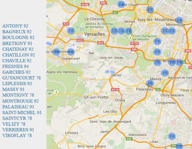 Marbrier ile de france carte yvelines carte du monde le for Carte touristique yvelines